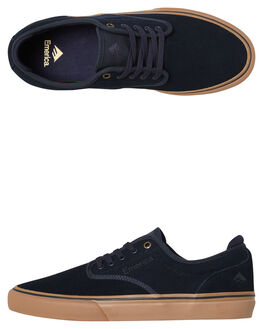 NAVY GUM MENS FOOTWEAR EMERICA SKATE SHOES - 6101000104-460