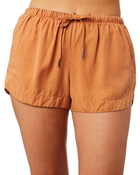 RUST WOMENS CLOTHING ALL ABOUT EVE SHORTS - 6423075BRNZ