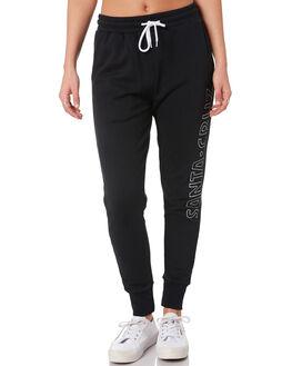 BLACK WOMENS CLOTHING SANTA CRUZ PANTS - SC-WPA0083BLK