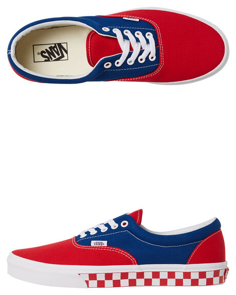 TRUE BLUE RED MENS FOOTWEAR VANS SNEAKERS - VNA38FRU8HRED