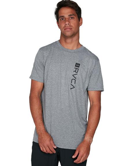 ATHLETIC HEA MENS CLOTHING RVCA TEES - RV-R391046-AHR