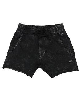 PIGMENT BLACK KIDS TODDLER BOYS MUNSTER KIDS SHORTS - MK181TR01SPMTBL