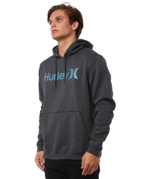 BLACK MENS CLOTHING HURLEY JUMPERS - 894974032