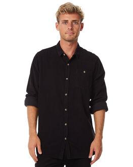 BLACK MENS CLOTHING ROLLAS SHIRTS - 10855100