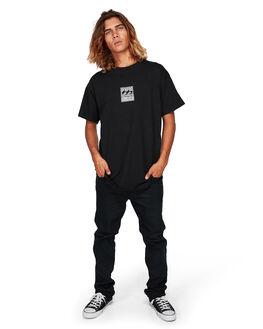 BLACK MENS CLOTHING BILLABONG TEES - BB-9592014-BLK