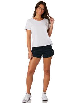 NAVY WOMENS CLOTHING VOLCOM SHORTS - B0931875NVY