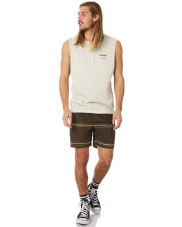 OFF WHITE MENS CLOTHING AFENDS SINGLETS - M183084OWHT