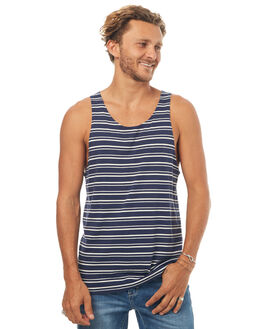 NAVY MENS CLOTHING SWELL SINGLETS - S5171275NAVY