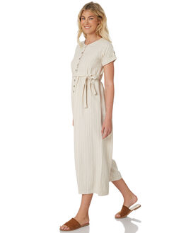 STRIPE TEXTURE WOMENS CLOTHING SAINT HELENA PLAYSUITS + OVERALLS - SHS19101STRT