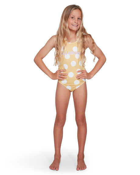 BRIGHT GOLD KIDS GIRLS BILLABONG SWIMWEAR - BB-5503704-BIG