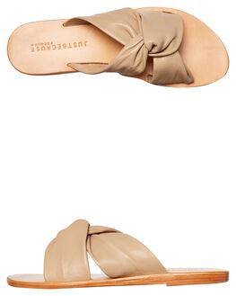 NUDE WOMENS FOOTWEAR JUST BECAUSE FASHION SANDALS - SOLE1183NUDE