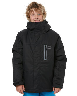BLACK SNOW OUTERWEAR BILLABONG JACKETS - F6JB01BLK