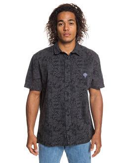BLACK CROSSTOWN MENS CLOTHING QUIKSILVER SHIRTS - EQYWT03780-KVJ6