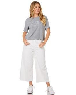 GREY MARLE WOMENS CLOTHING HUFFER TEES - WTE84S72230GRYM