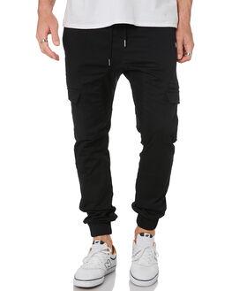 WASHED BLACK MENS CLOTHING ZANEROBE PANTS - 734-VERWBLK