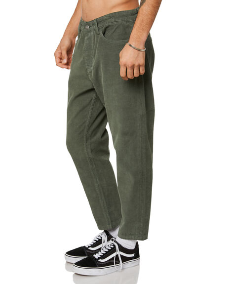 LUME GREEN MENS CLOTHING THRILLS JEANS - TDP-422FLMGRN