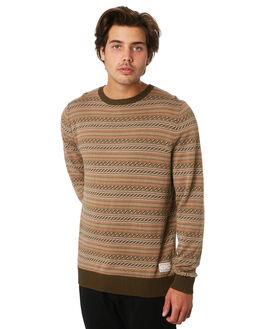 MULTI MENS CLOTHING RHYTHM KNITS + CARDIGANS - JUL19M-KN03-MUL
