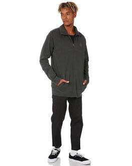 WASHED BLACK MENS CLOTHING SWELL JUMPERS - S5203441WSHBK