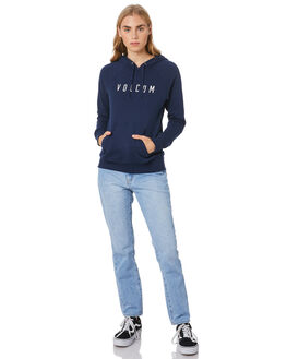 NAVY WOMENS CLOTHING VOLCOM JUMPERS - B3111886NVY