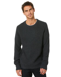 BLACK MARLE MENS CLOTHING RUSTY KNITS + CARDIGANS - CKM0343BKM