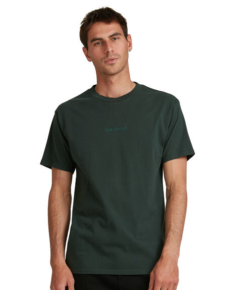 DEEP FOREST MENS CLOTHING DC SHOES TEES - UDYZT03794-KSW0