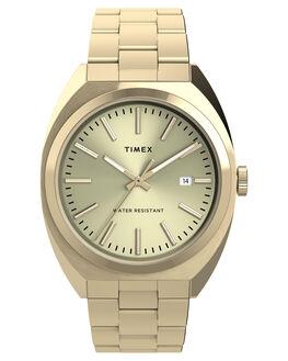 GOLD MENS ACCESSORIES TIMEX WATCHES - TW2U15700GLD