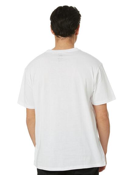 WHITE MENS CLOTHING POLER TEES - 55200027-WHT