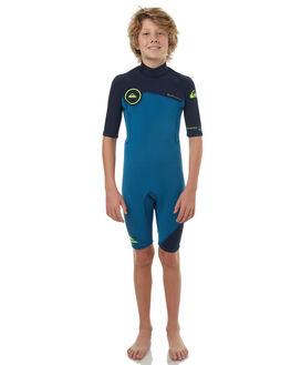 MARINA BLUE YELLOW BOARDSPORTS SURF QUIKSILVER BOYS - EQBW503004XBBG