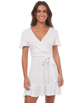 WHITE WOMENS CLOTHING SWELL DRESSES - S8171445WHITE