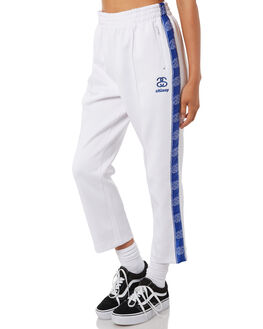 WHITE WOMENS CLOTHING STUSSY PANTS - ST195608WHT