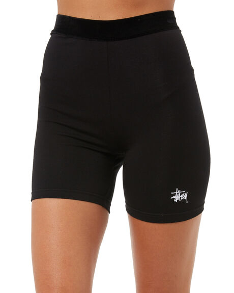 BLACK WOMENS CLOTHING STUSSY ACTIVEWEAR - ST173616BLK
