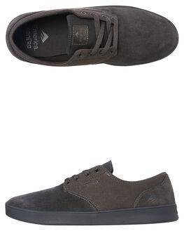 CHARCOAL MENS FOOTWEAR EMERICA SKATE SHOES - 6102000089010