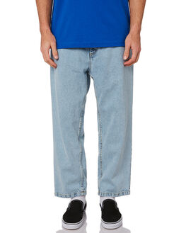 LIGHT BLUE MENS CLOTHING POLAR SKATE CO. JEANS - PSC-93DEN-LBLU