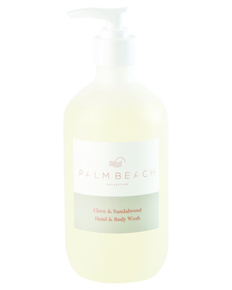 CLOVE SANDALWOOD WOMENS ACCESSORIES PALM BEACH COLLECTION HOME + BODY - HBWXCS