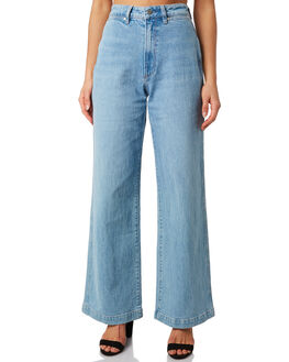 BALLAD BLUE WOMENS CLOTHING WRANGLER JEANS - W-951476-G79