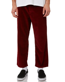 RED MENS CLOTHING POLAR SKATE CO. PANTS - PSC-93CORD-RED