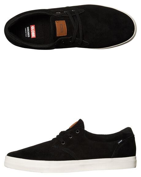 BLACK MENS FOOTWEAR GLOBE SKATE SHOES - GBWILLOW-10001