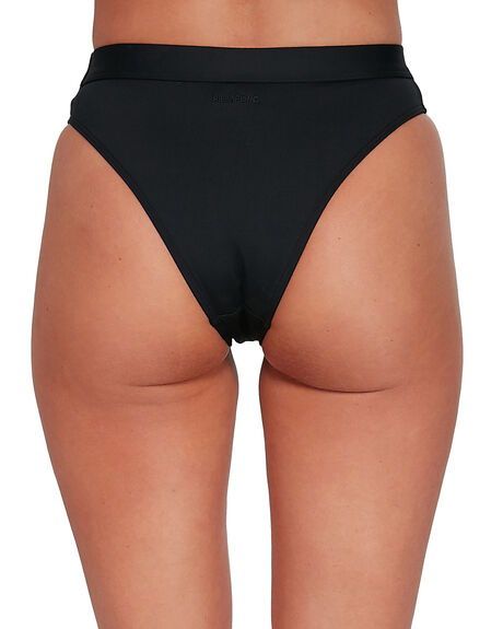 BLACK WOMENS SWIMWEAR BILLABONG BIKINI BOTTOMS - BB-6503713-BLK