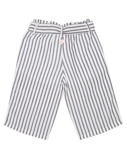NAVY WHITE STRIPE KIDS GIRLS EVES SISTER PANTS - 8021009STR