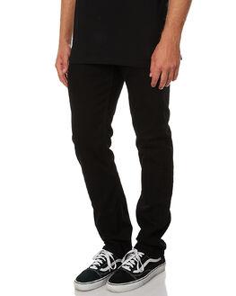 BLACK RINSE MENS CLOTHING LEE JEANS - L-062855-616BKR