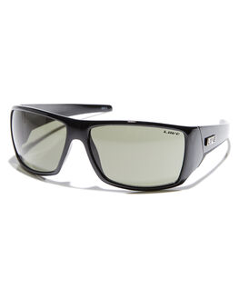 BLACK MENS ACCESSORIES LIIVE VISION SUNGLASSES - LI00246BLK
