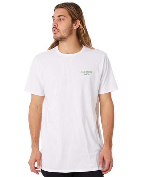 WHITE MENS CLOTHING SWELL TEES - S5183008WHITE
