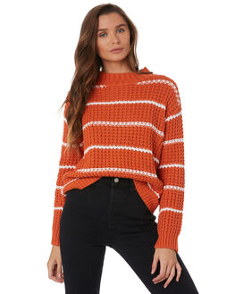 RUST WOMENS CLOTHING SWELL KNITS + CARDIGANS - S8201146RUST