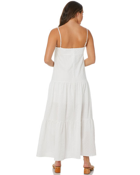 WHITE WOMENS CLOTHING THE HIDDEN WAY DRESSES - H8222445WHT