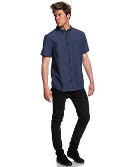 DARK DENIM MENS CLOTHING QUIKSILVER SHIRTS - EQYWT03723BRQ0