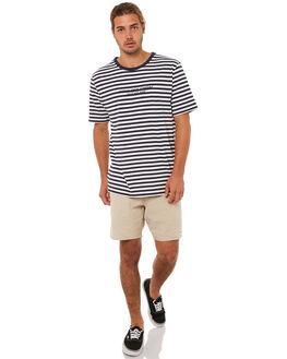 NAVY MENS CLOTHING RHYTHM TEES - JAN18M-CT04NAVY