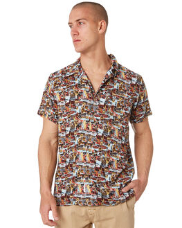 LAGER MENS CLOTHING THE CRITICAL SLIDE SOCIETY SHIRTS - SS1858LAGER