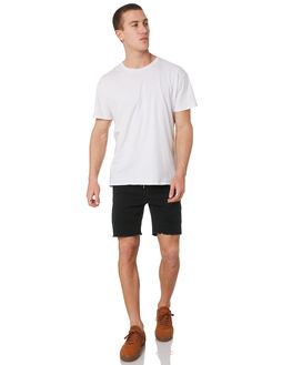BLACK MENS CLOTHING NENA AND PASADENA SHORTS - NPMGDS001BLCK