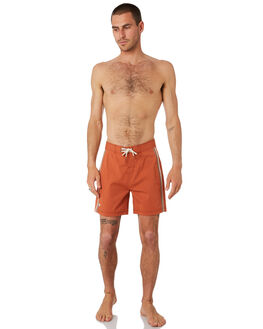RUST MENS CLOTHING MCTAVISH BOARDSHORTS - MS-19BS-01RUST