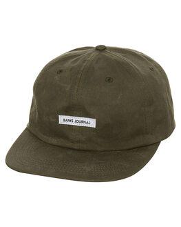 LODEN GREEN MENS ACCESSORIES BANKS HEADWEAR - HA0073LGR